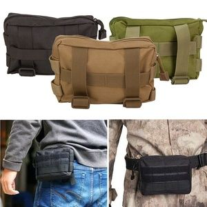Mens Tactical Pouch Backpack Gadget Waist Bag